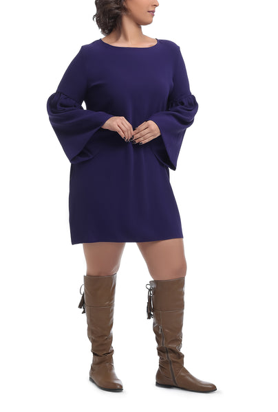 Angel Sleeve Blouse - Purple