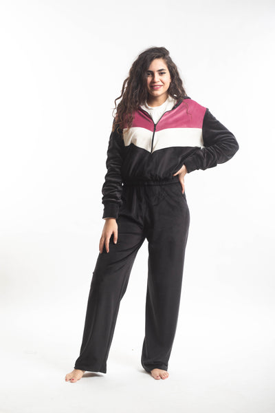 Tracksuit 2 Piece Set - Black