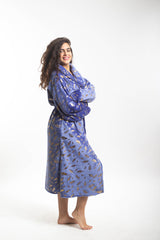 Extra Fluffy Plush Robe - Blue