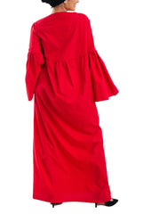Loose Dress - Red