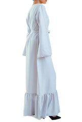 Galbya Dress -Long- White