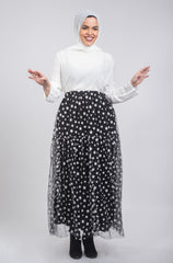 Galaxy Tulle Skirt - Black