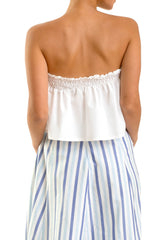 Bow Top - White