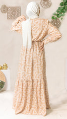 The Sahara Dress - Light Yellow