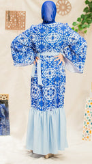 The Moroccan Dress - Blue