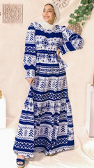 The Russian Dress- Blue