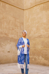 The Fatima Kimono With Fringes