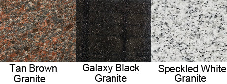 Tan Brown Granite Galaxy Black Granite Speckled White Granite