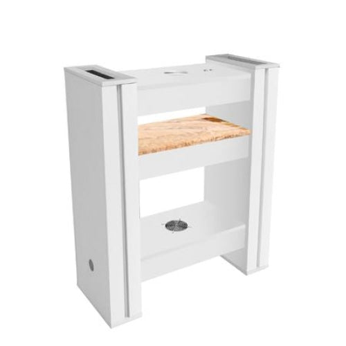 Alego Nail Drying Station for 2 White Deco Salon - Nail Drying Stations