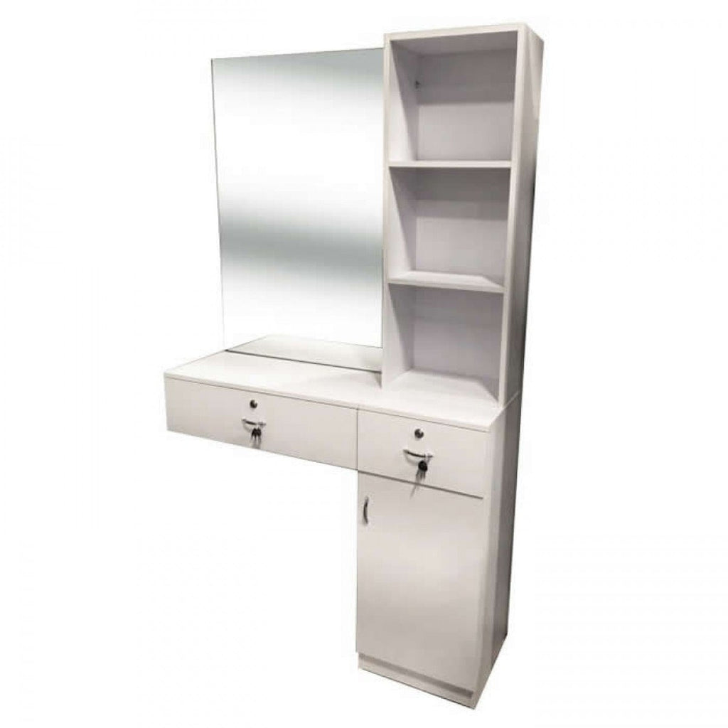 Anvers Styling Station Matte White AGS-I-020 AGS Beauty - Styling Stations