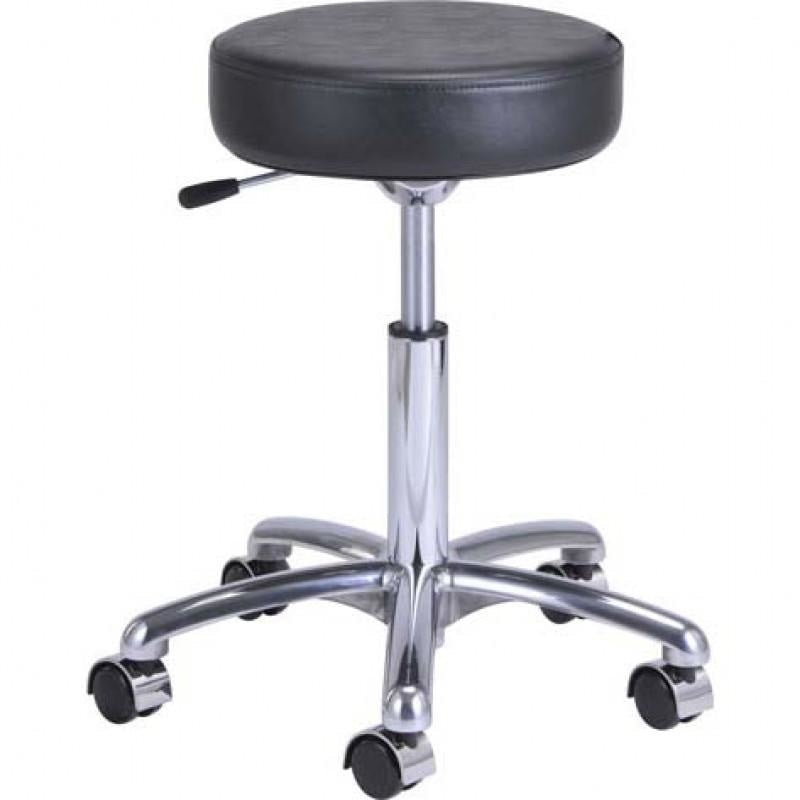 Baby Panda Salon Stool Black DIR - Stools