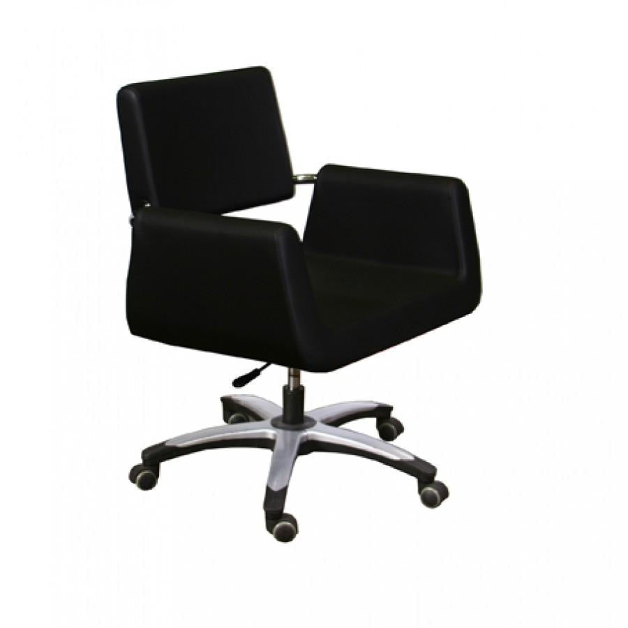 Beatrice Customer Chair Black Deco Salon - Waiting Chairs