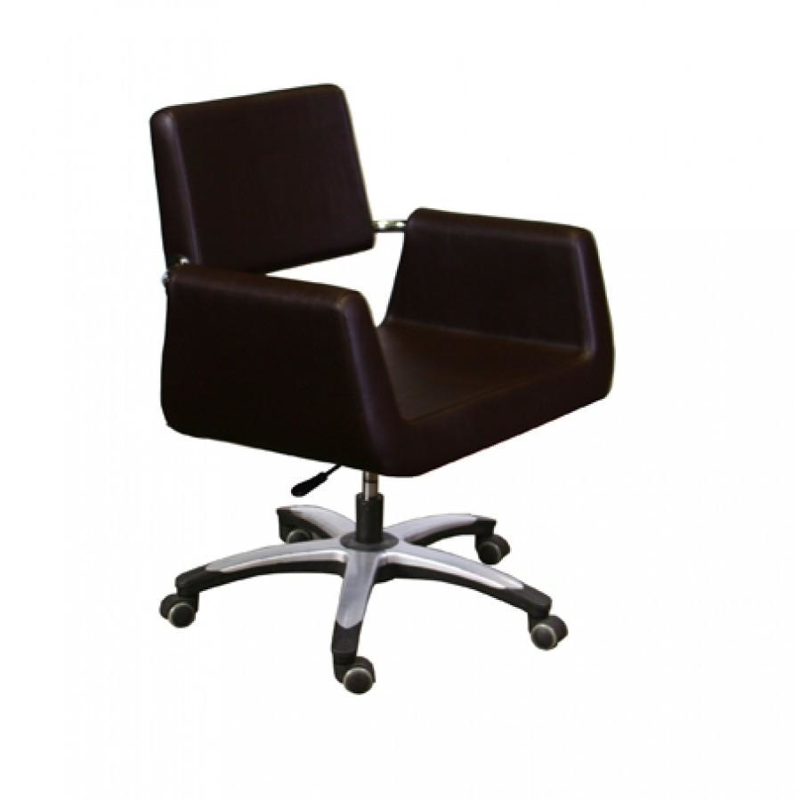 Beatrice Customer Chair Dark Mocha Deco Salon - Waiting Chairs