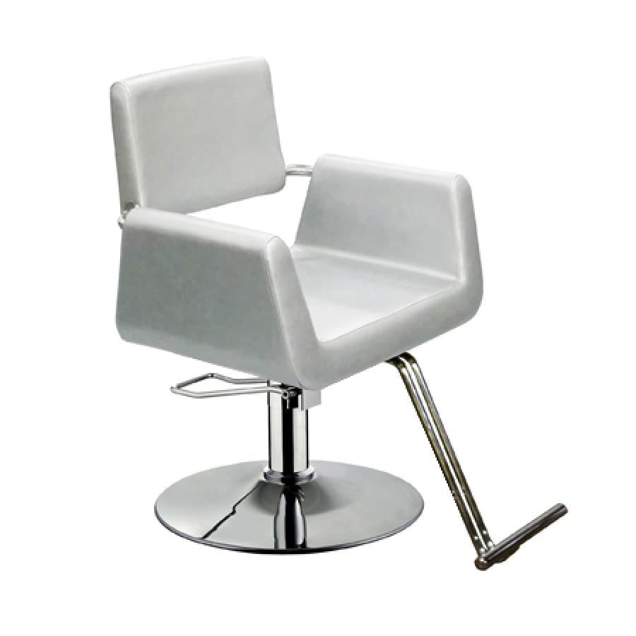 Beatrice Styling Chair Silver Deco Salon - Styling Chairs