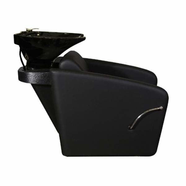 Bouvier Shampoo Chair Station in Black Deco Salon - Backwashes