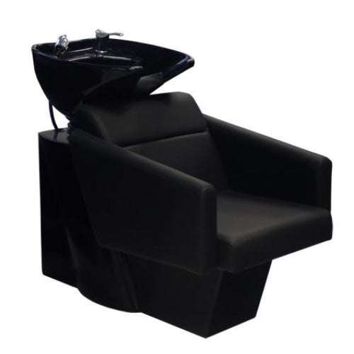 Bria Shampoo Chair Station Black Deco Salon - Backwashes