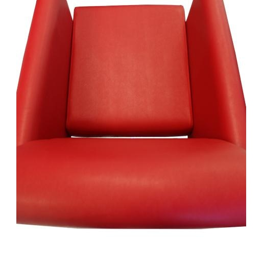 Bria Styling Chair Red Deco Salon - Styling Chairs