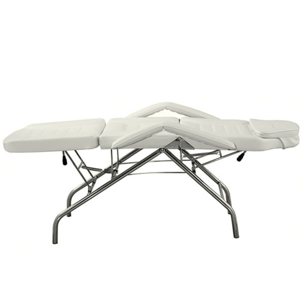 Calla Facial Bed White AGS-E-001W AGS Beauty - Beauty Beds