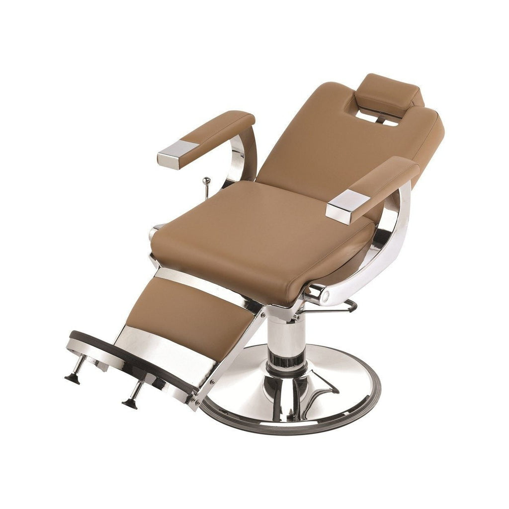 Capo Barber Chair Tan Pibbs - Barber Chairs
