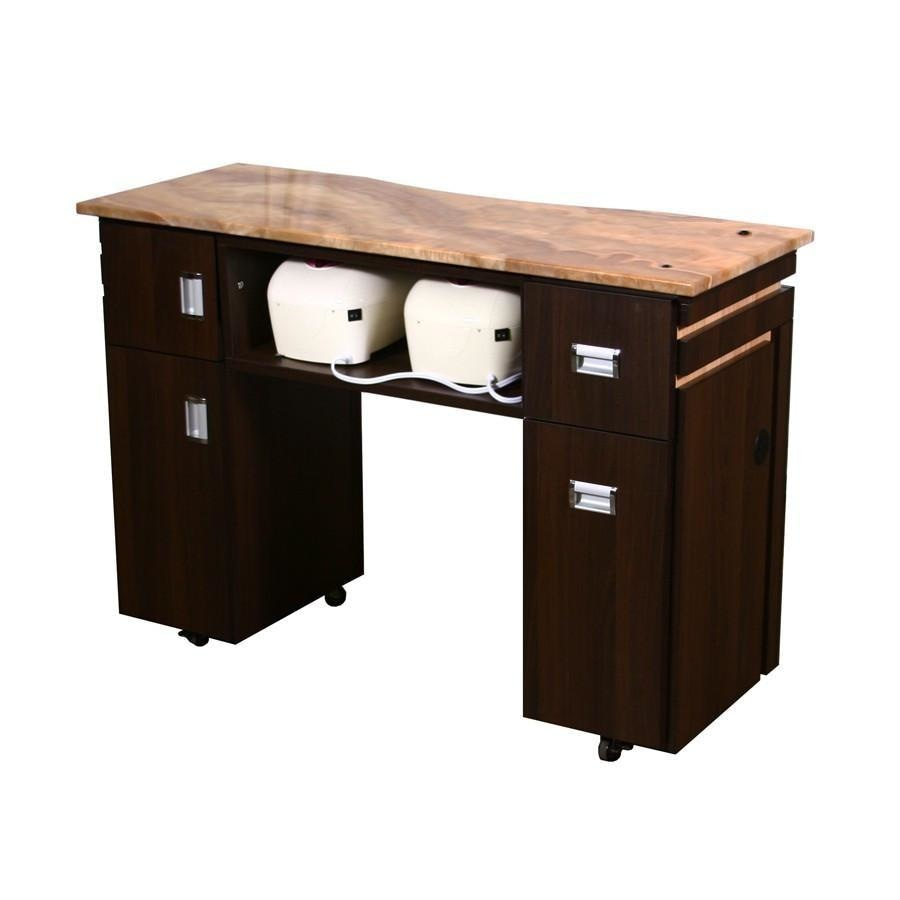 Carina (BUV) Manicure Table Chocolate Deco Salon - Manicure Tables