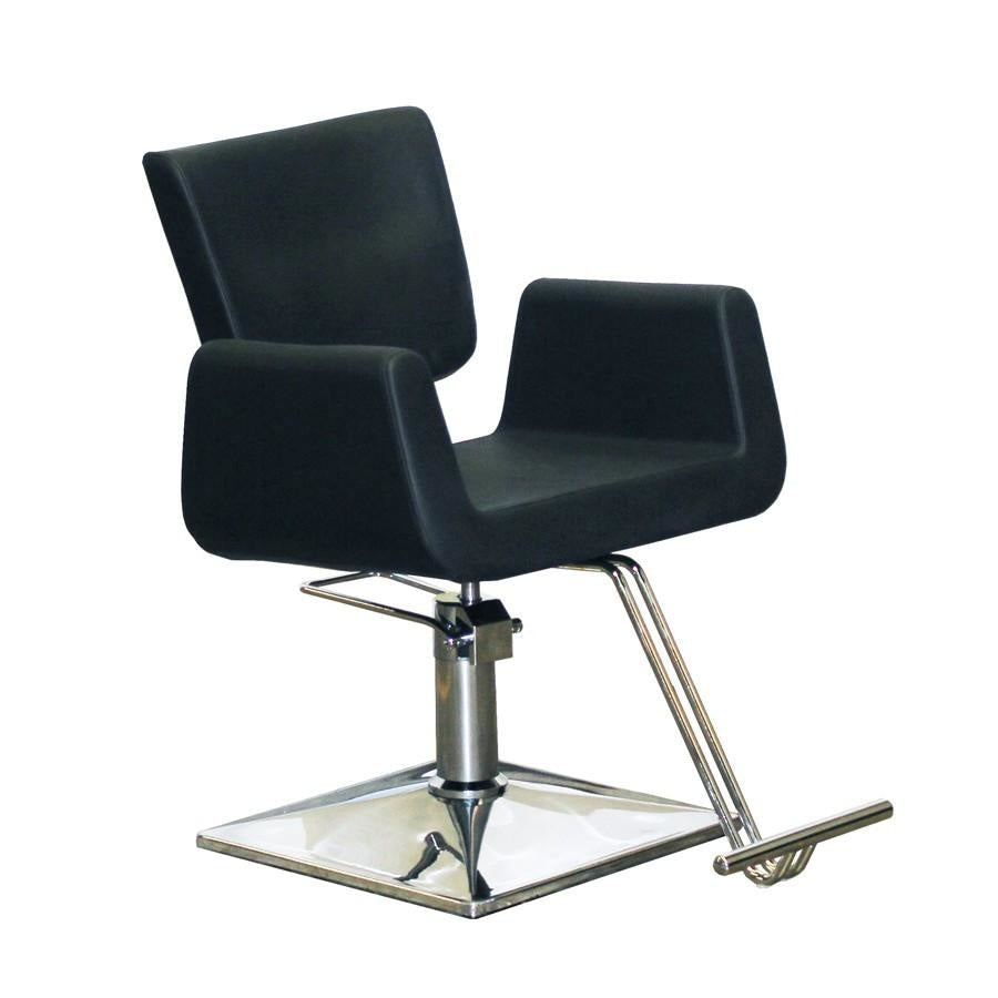 Charlotte Styling Chair - Black - Deco Salon - Styling Chairs