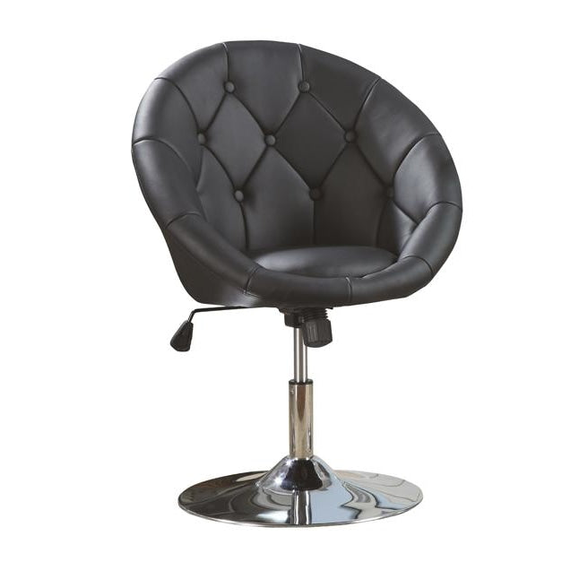 Concord Lux Customer Chair Black Deco Salon - Waiting Chairs