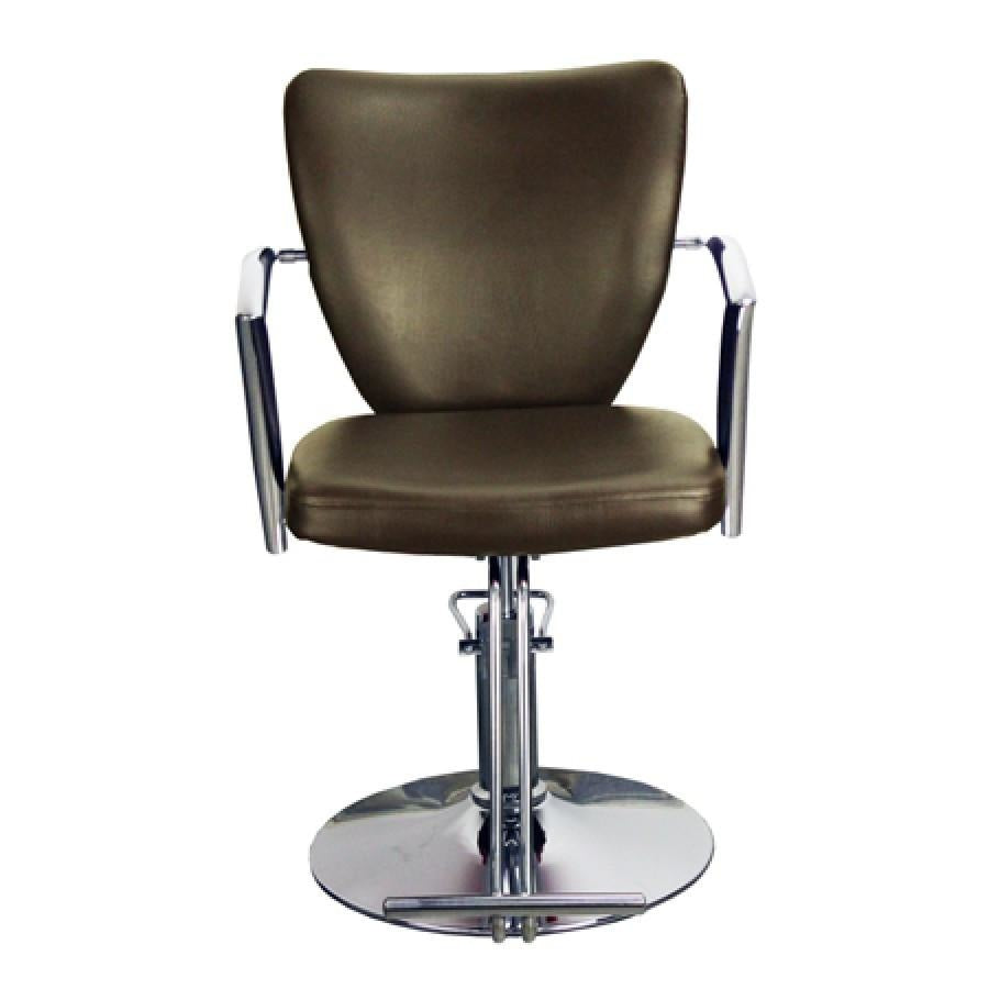 Conti Styling Chair Mocha Deco Salon - Styling Chairs