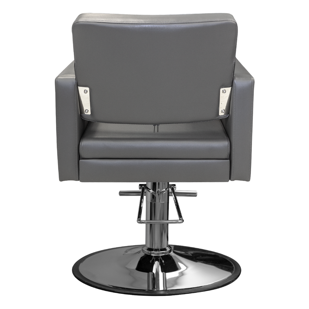 Crystalli Styling Chair Grey Deco Salon - Styling Chairs