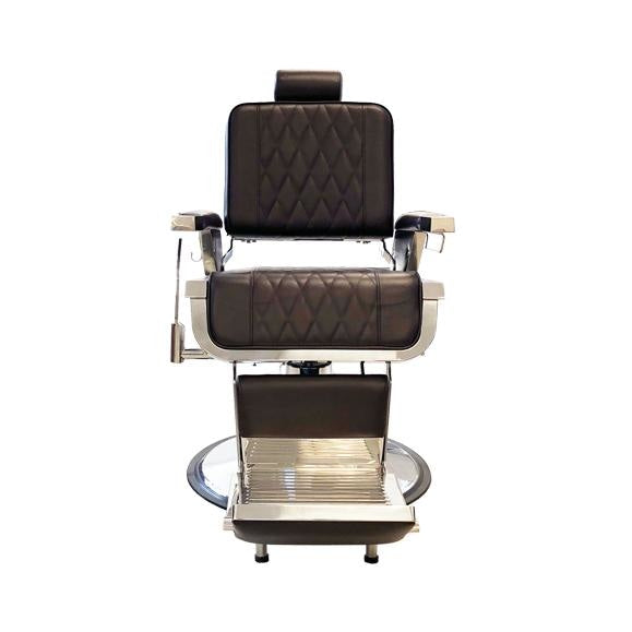 Custom Series Barber Chair L200 Mocha Deco Salon - Barber Chairs
