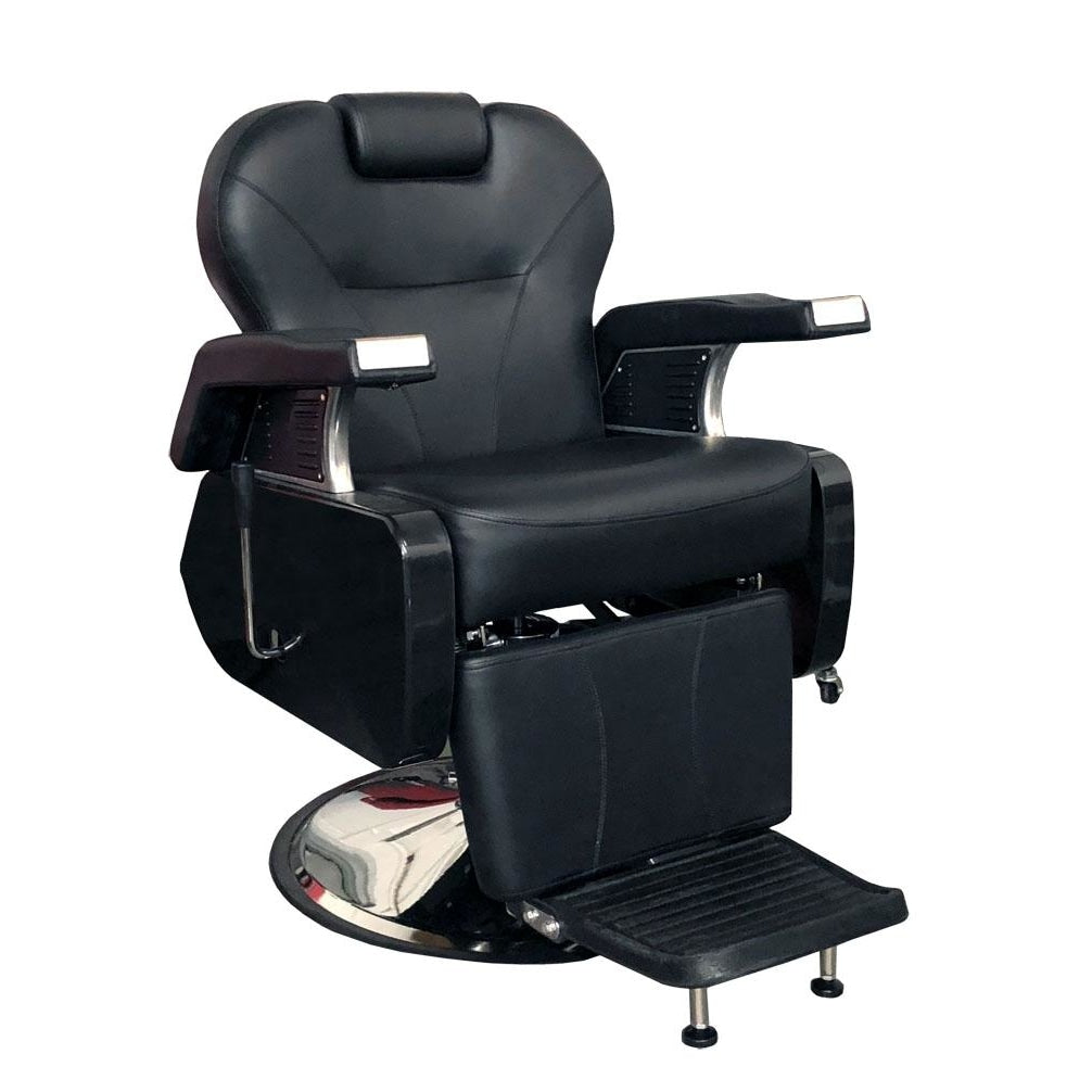 Davidson Barber Chair Black Deco Salon - Barber Chairs