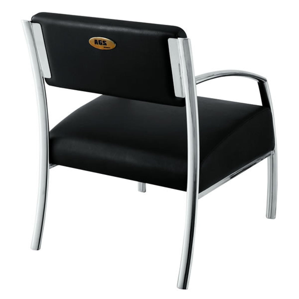 Dorado Single Reception Chair AGS Beauty - Waiting Chairs