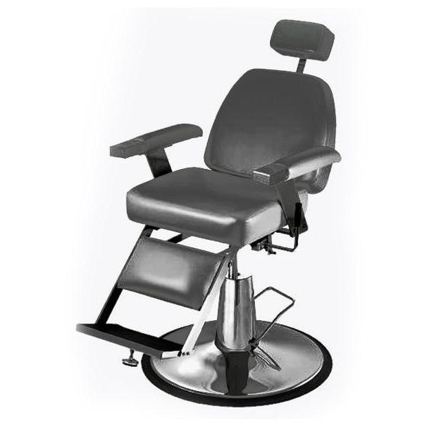 Duke Barber Chair 651 Black Pibbs - Barber Chairs
