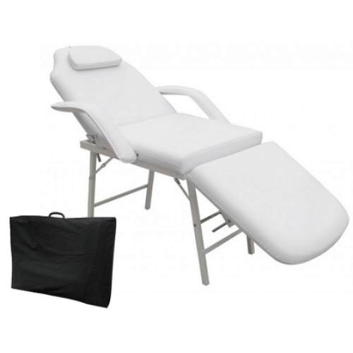 Economy Facial Bed White Deco Salon - Beauty Beds