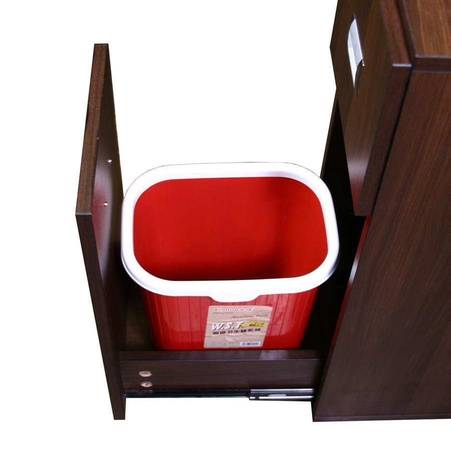 Edita (A) Manicure Table Dark Cherry Deco Salon - Manicure Tables
