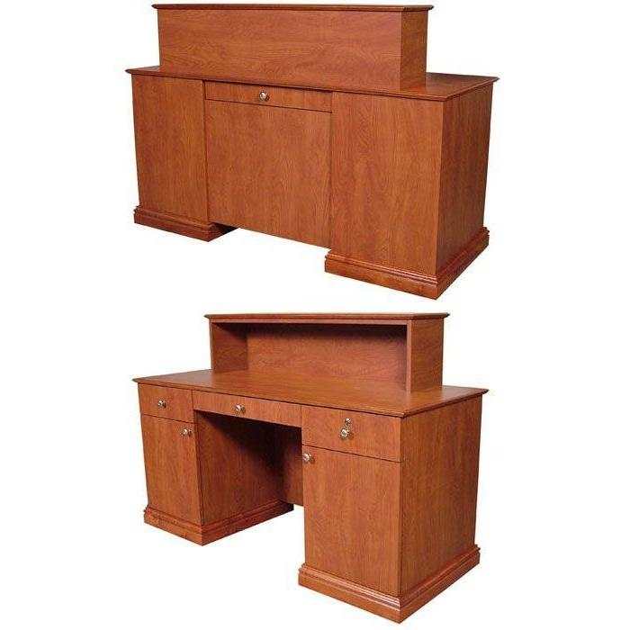 Jeffco Elite Desks E01-E02 - Reception Desks