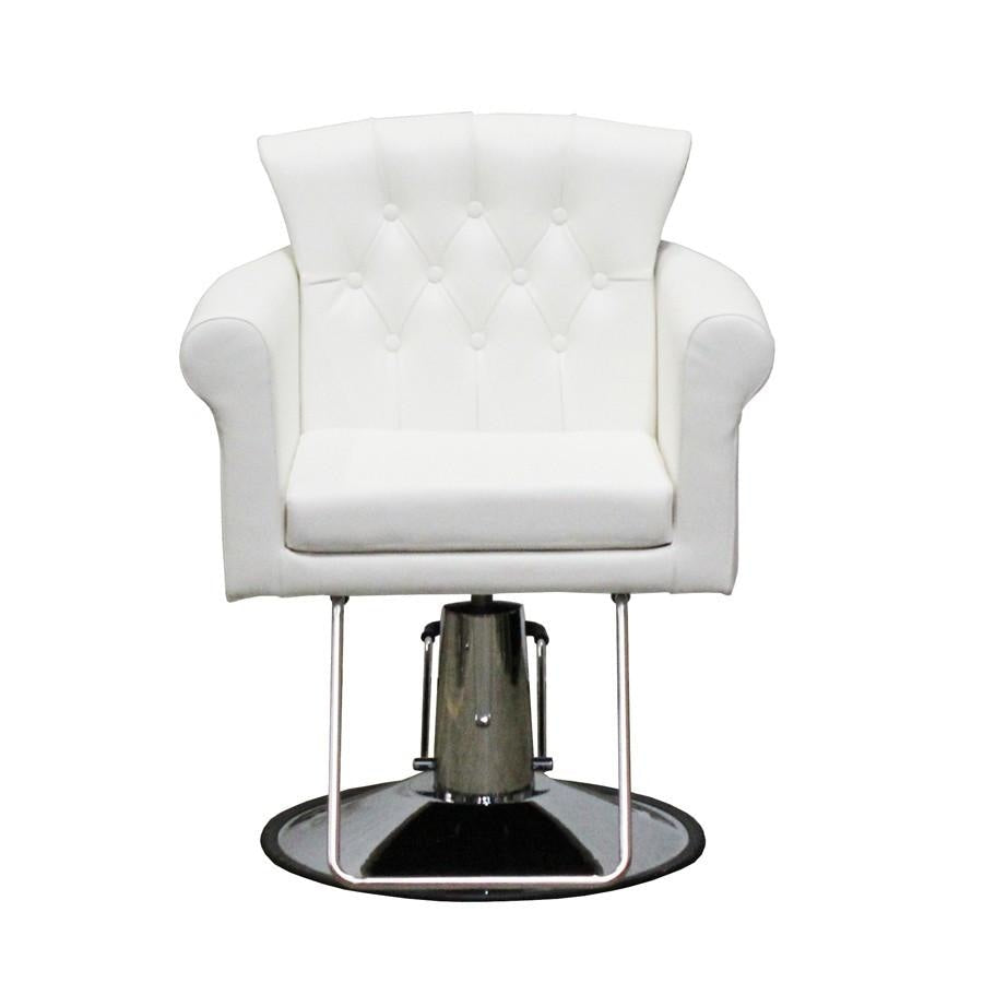 Elizabeth Styling Chair White Deco Salon - Styling Chairs