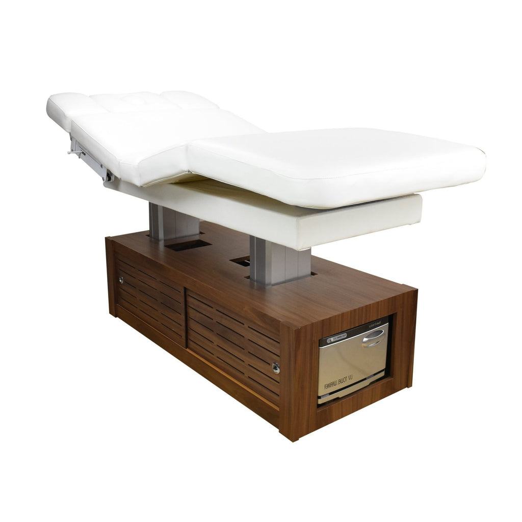 Embrace Massage Table with Bottom Storage Unit Touch America - Massage & Spa Tables