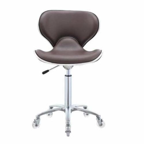 Esperto Salon Stool Brown DIR - Stools