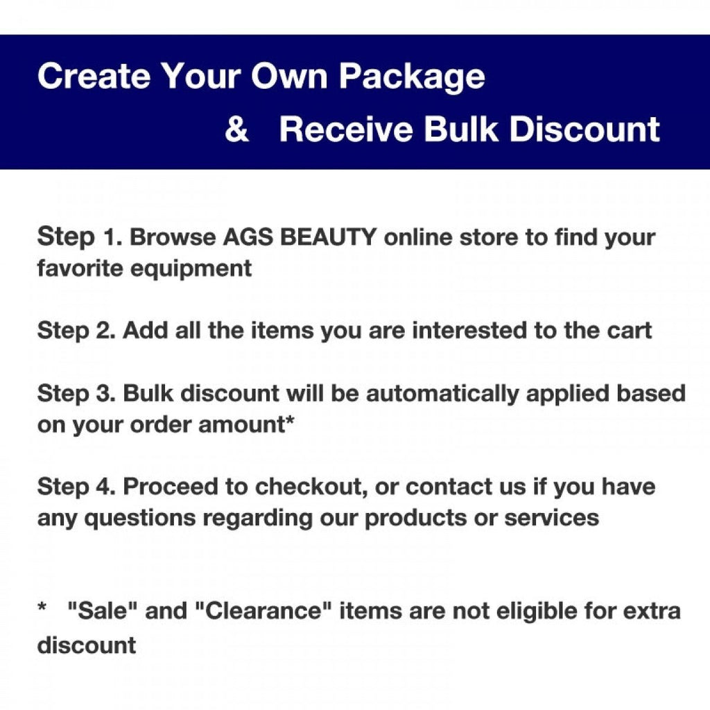 Example Package: Salon Equipment Package Salon Furniture Package - AGS-Sample-Package - Packages