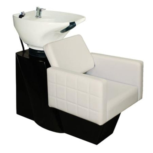 Fab Shampoo Chair Station Black Base Deco Salon - Backwashes