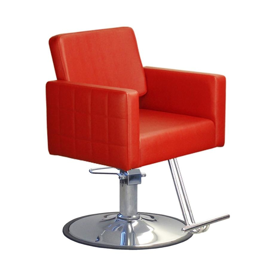 Fab Styling Chair Red Deco Salon - Styling Chairs