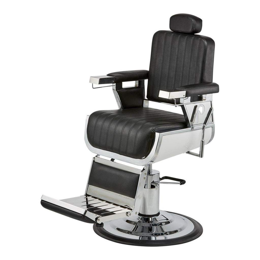 Grande Barber Chair 660 Black Pibbs - Barber Chairs