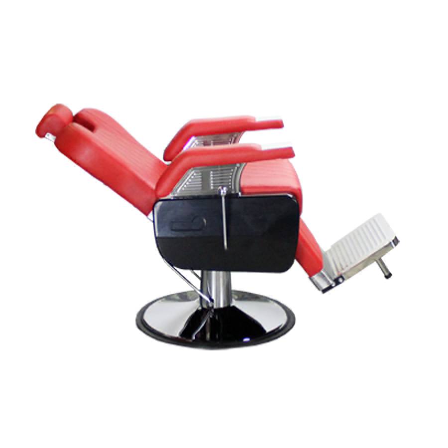 Harrington Barber Chair Red Deco Salon - Barber Chairs