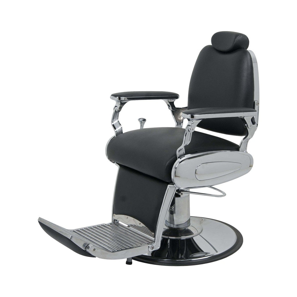 Jaguar Barber Chair Black Jeffco - Barber Chairs
