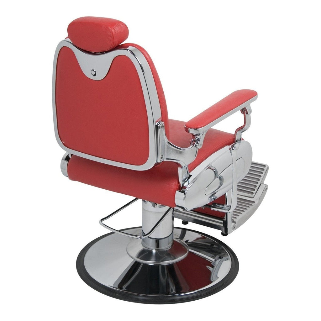 Jaguar Barber Chair Red Jeffco - Barber Chairs