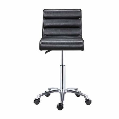 Jockey Salon Stool Black DIR - Stools