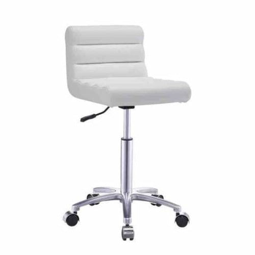 Jockey Salon Stool White DIR - Stools