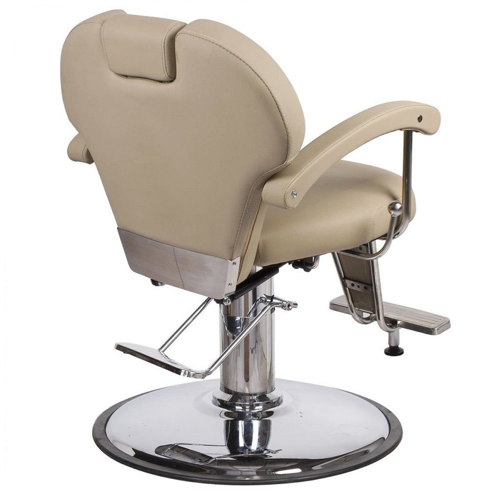 Katherine Unisex Barber Chair Khaki AGS Beauty - Barber Chairs