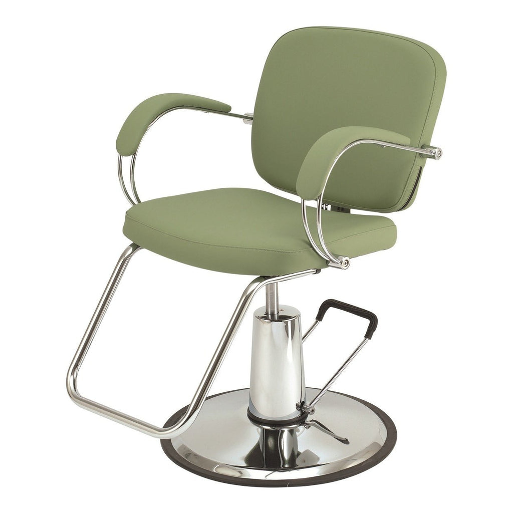 Latina Styling Chair Green Pibbs - Styling Chairs