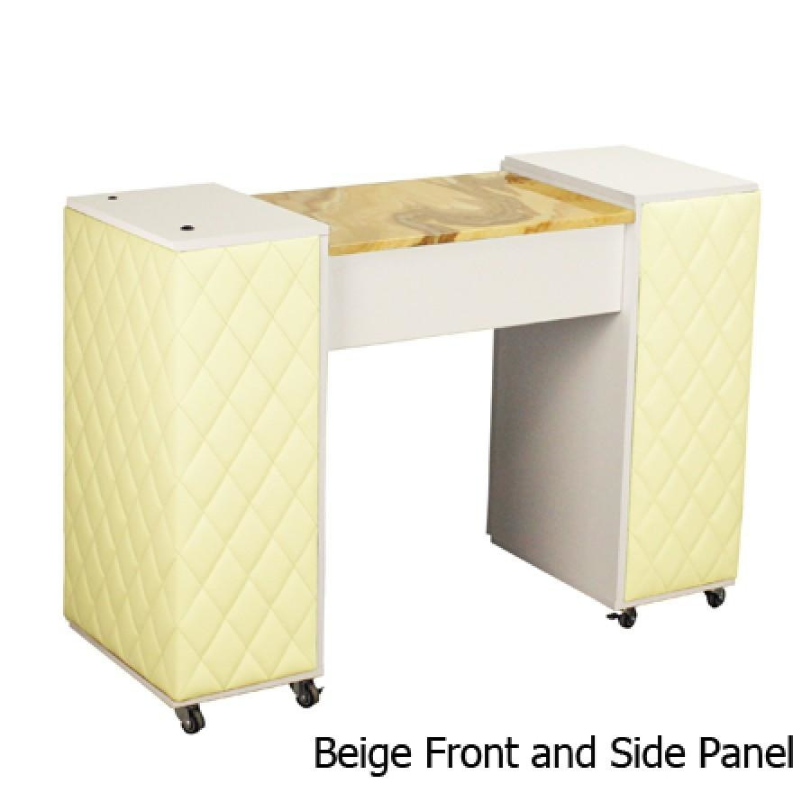 Le Beau Aussi (A) Manicure Table White Deco Salon - Manicure Tables